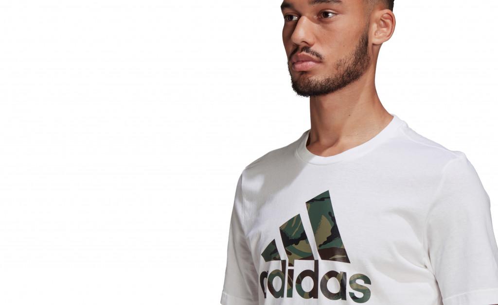 adidas ESSENTIALS T-SHIRT CAMO IMAGE 3