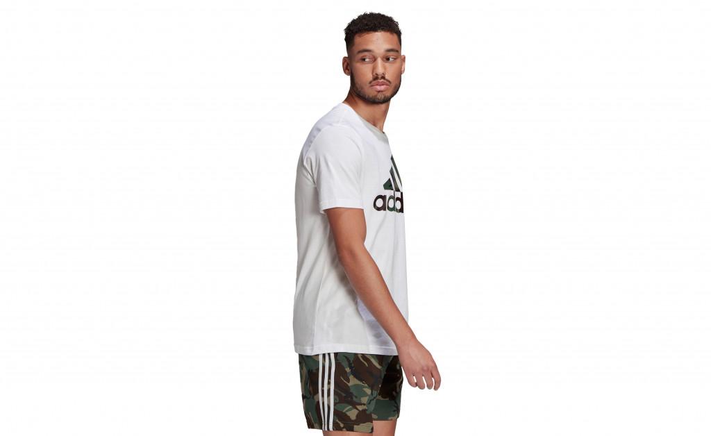 adidas ESSENTIALS T-SHIRT CAMO IMAGE 5