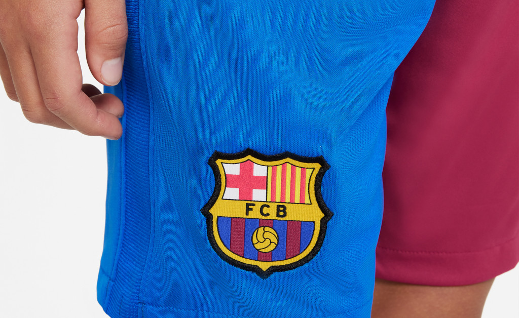 NIKE FC BARCELONA STADIUM SHORT JUNIOR 21/22 IMAGE 4