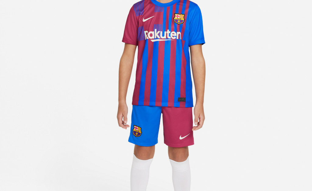 NIKE FC BARCELONA STADIUM SHORT JUNIOR 21/22 IMAGE 7