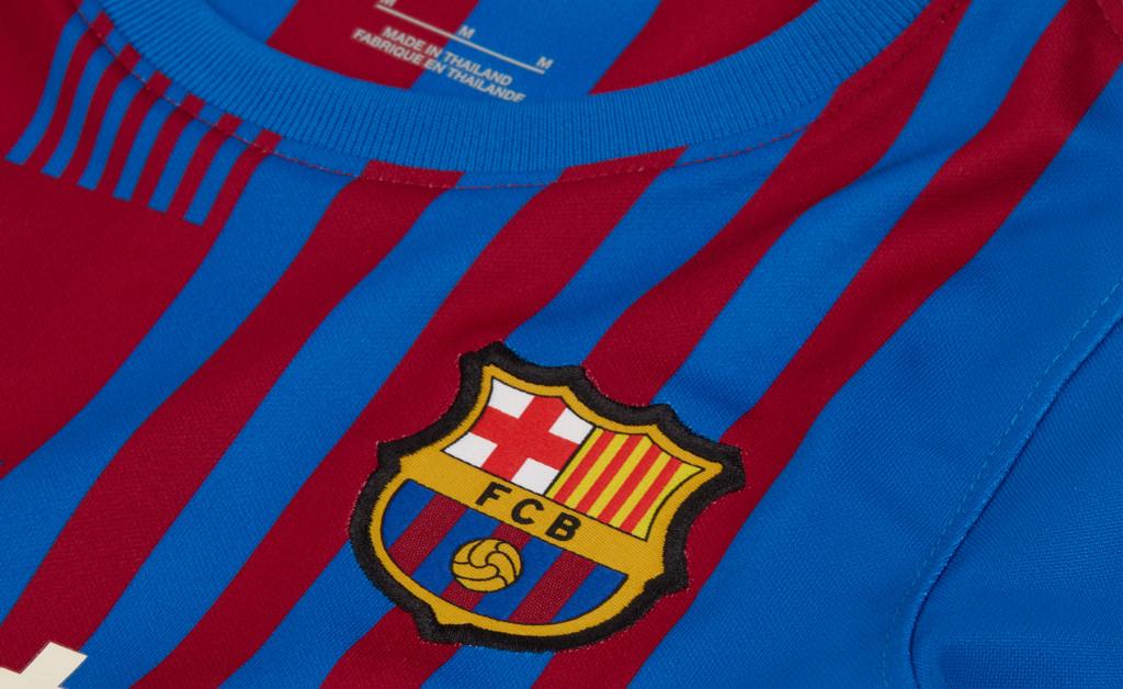 NIKE FC BARCELONA KIT HOME KIDS 21/22 IMAGE 4