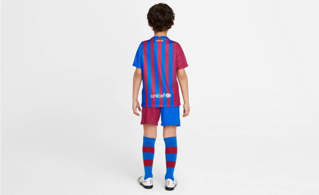 NIKE FC BARCELONA KIT HOME KIDS 21/22 IMAGE 5