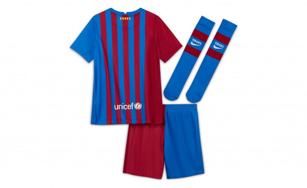 NIKE FC BARCELONA KIT HOME KIDS 21/22 IMAGE 6