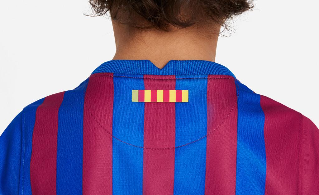 NIKE FC BARCELONA KIT HOME KIDS 21/22 IMAGE 7