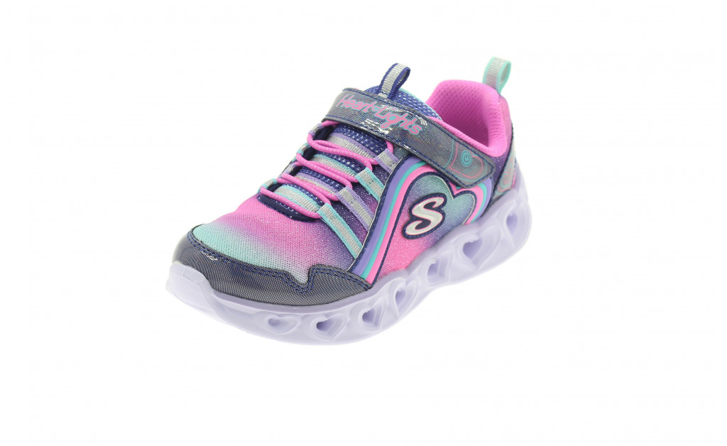 SKECHERS LUCES HEART LIGHTS REINBOW LUX KIDS IMAGE 1
