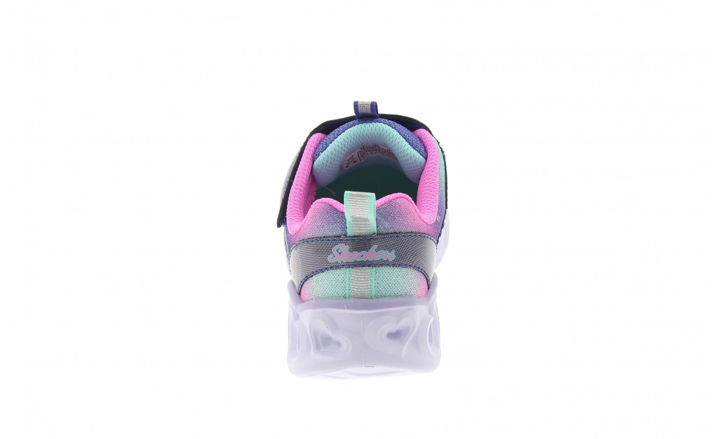 SKECHERS LUCES HEART LIGHTS REINBOW LUX KIDS IMAGE 2