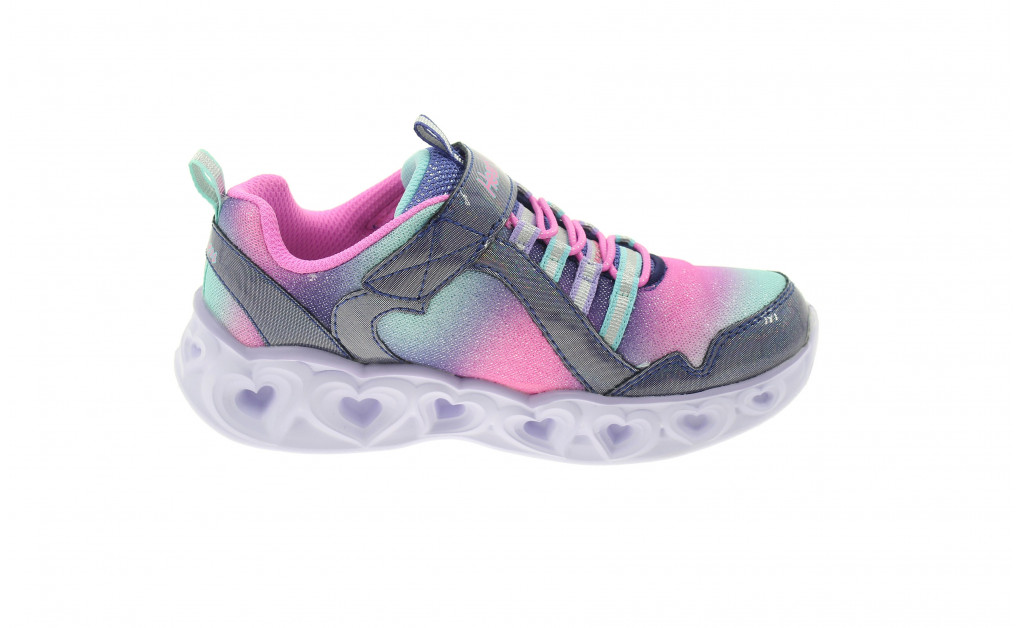 SKECHERS LUCES HEART LIGHTS REINBOW LUX KIDS IMAGE 3