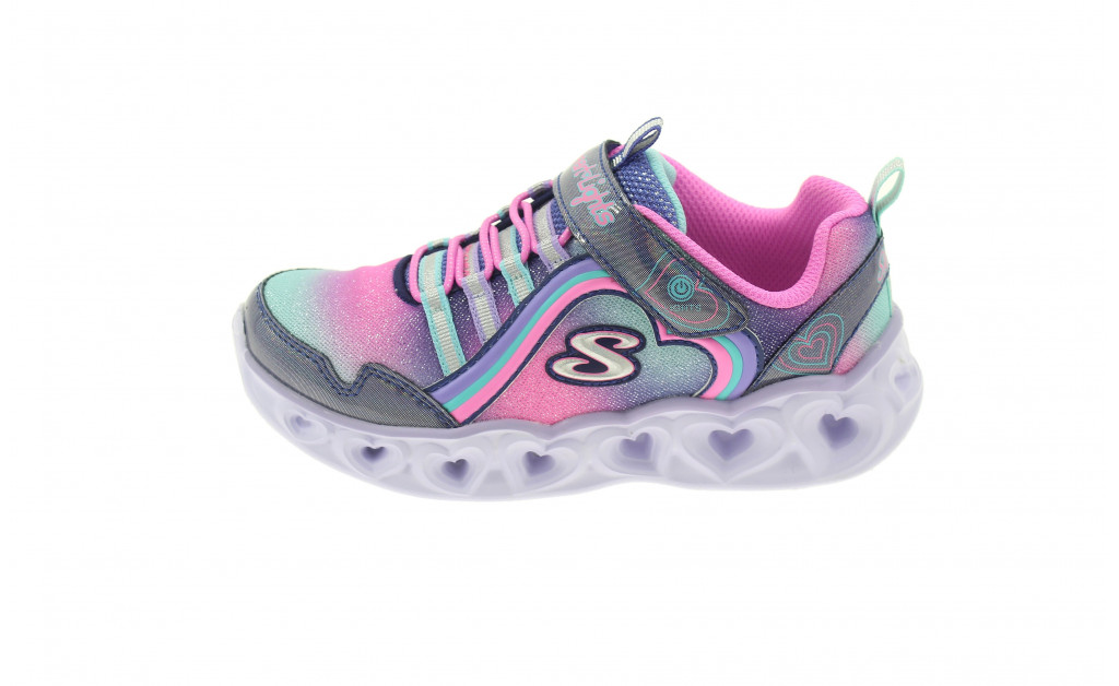 SKECHERS LUCES HEART LIGHTS REINBOW LUX KIDS IMAGE 5