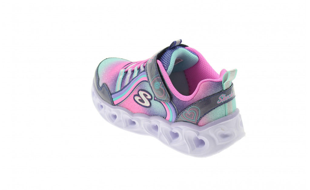 SKECHERS LUCES HEART LIGHTS REINBOW LUX KIDS IMAGE 6