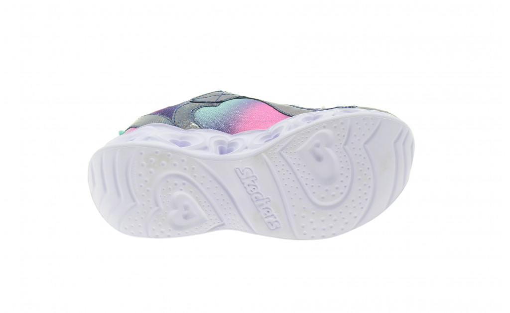 SKECHERS LUCES HEART LIGHTS REINBOW LUX KIDS IMAGE 7