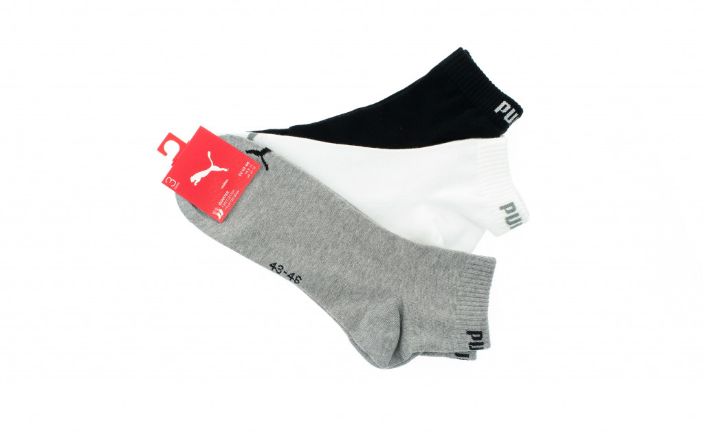 PUMA UNISEX TRAINING QUARTERS PACK 3 IMAGE 2