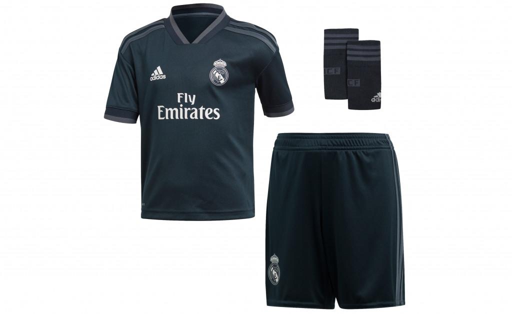 adidas MINIKIT SEGUNDA EQUIPACIÓN REAL MADRID 18/19 IMAGE 1