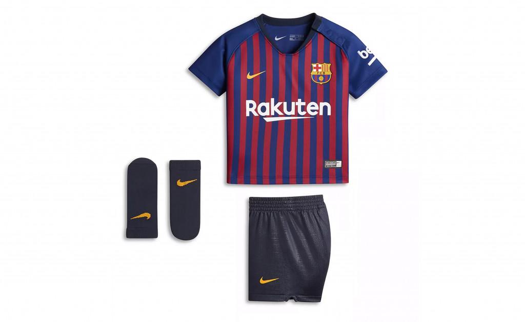 NIKE FC BARCELONA KIT HOME BEBÉ 18/19 IMAGE 1