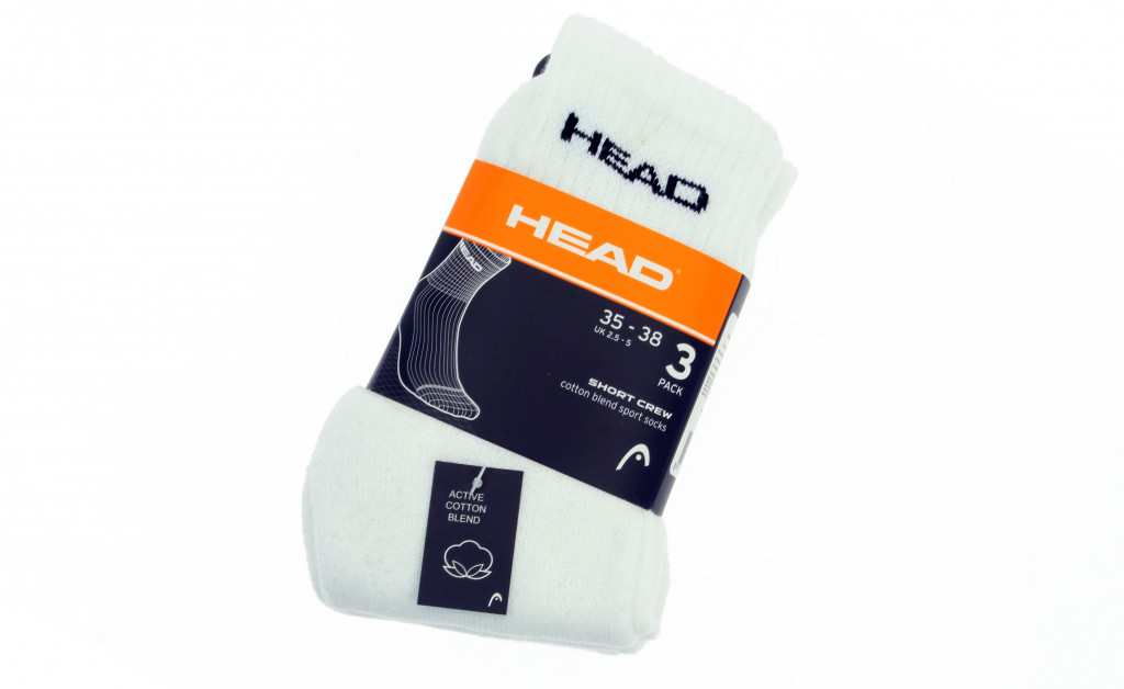 HEAD UNISEX SHORT CREW PACK 3 IMAGE 1