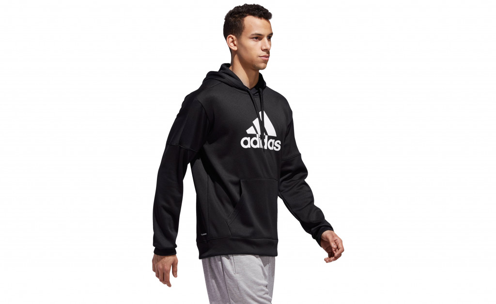 adidas TEAM ISSUE FLEECE PULLOVER IMAGE 2