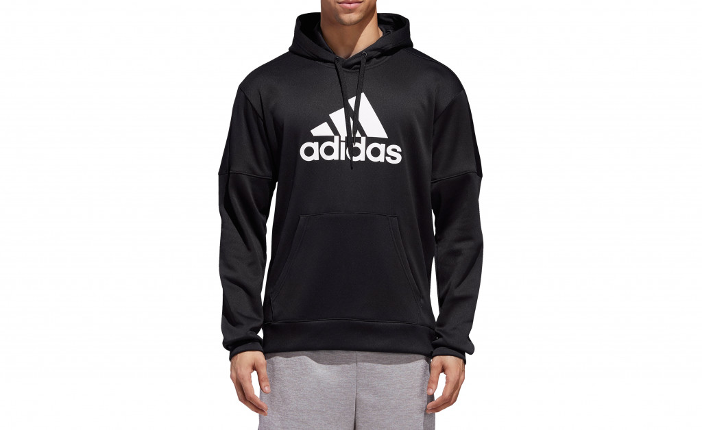 adidas TEAM ISSUE FLEECE PULLOVER IMAGE 3