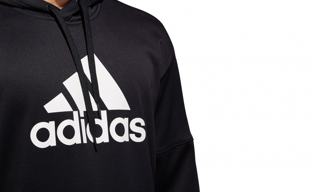 adidas TEAM ISSUE FLEECE PULLOVER IMAGE 7