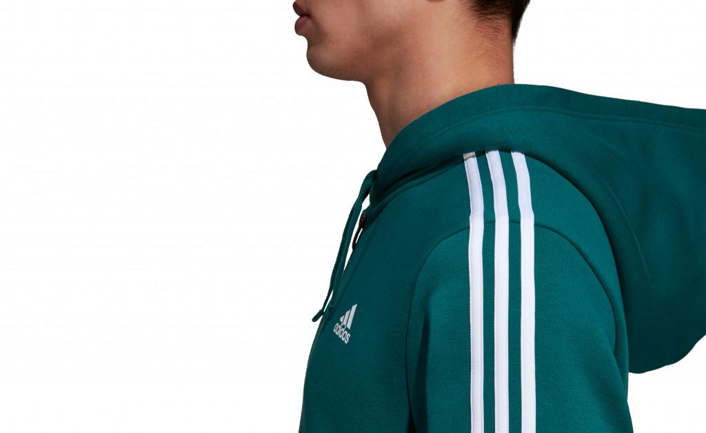 adidas CLASSICS 3S FZ HOODY BRUSHED IMAGE 2