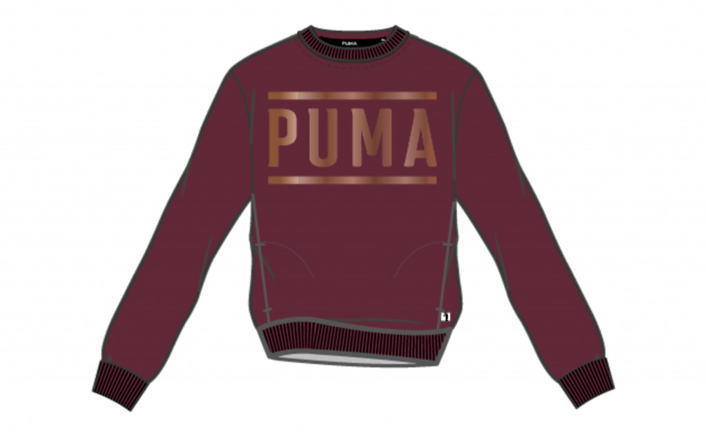 PUMA ATHLETIC CREW SWEAT IMAGE 1