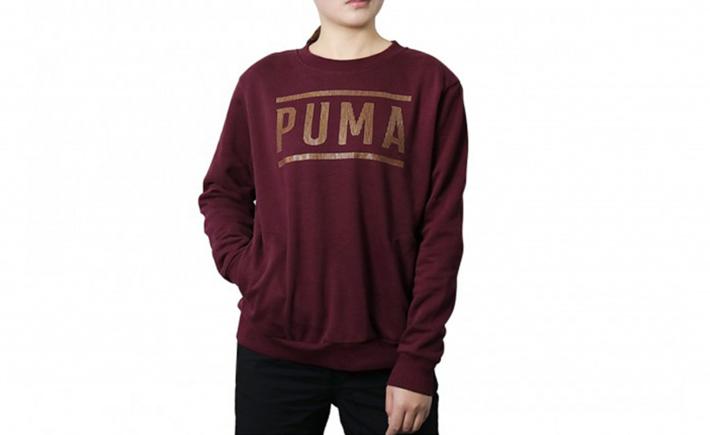 PUMA ATHLETIC CREW SWEAT IMAGE 2