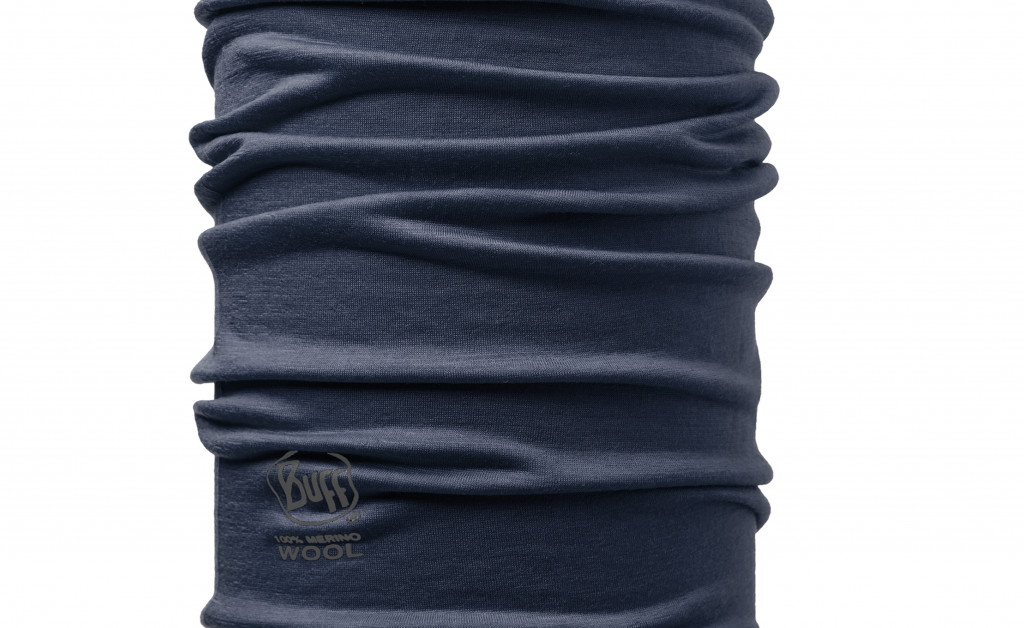 BUFF LANA MERINO SOLID DENIM IMAGE 2
