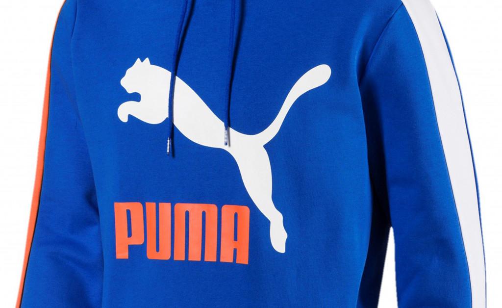 PUMA CLASSICS T7 LOGO HOODY IMAGE 2
