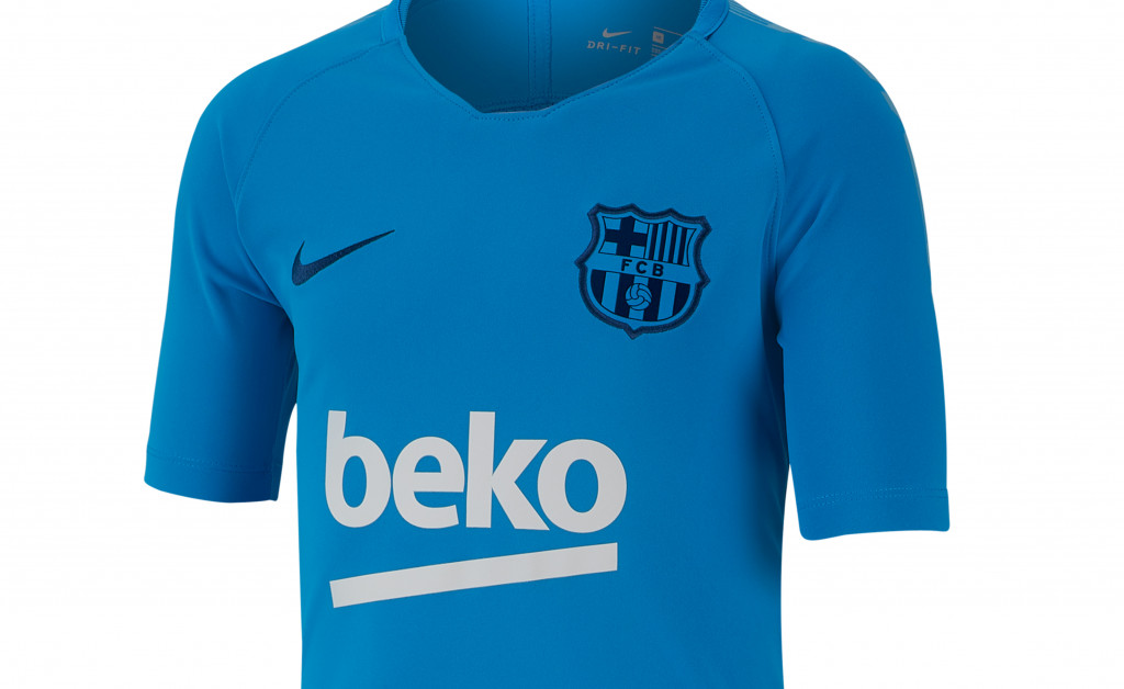NIKE FC BARCELONA BREATHE SQUAD NIÑO 18/19 IMAGE 2