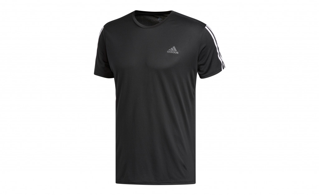 adidas RUN 3 STRIPES TEE MEN IMAGE 1