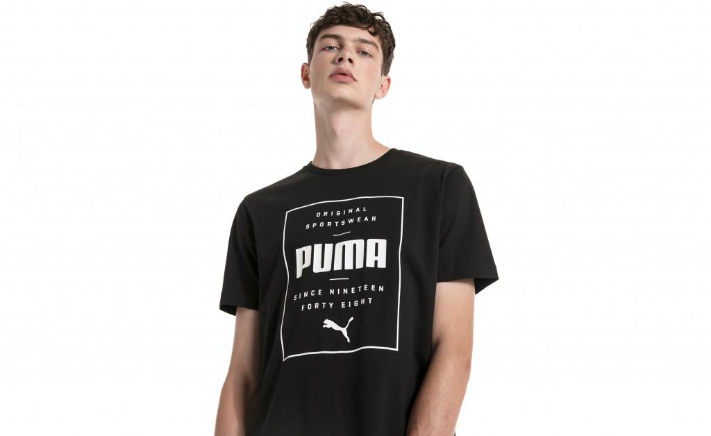 PUMA BOX TEE IMAGE 4