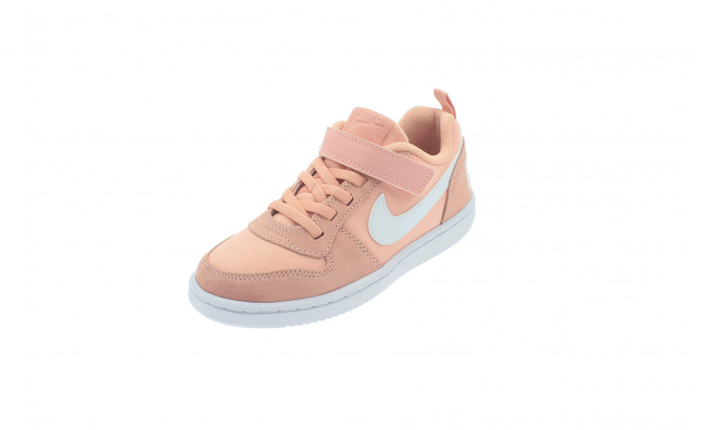 NIKE COURT BOROUGH LOW PE KIDS IMAGE 1