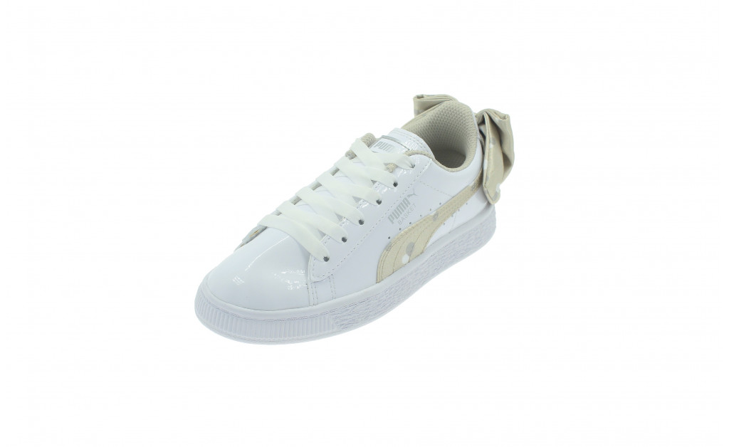 PUMA BASKET BOW DOTS KIDS IMAGE 1
