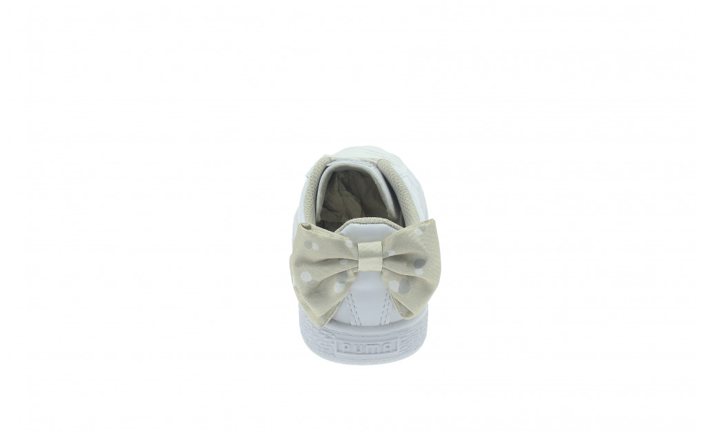 PUMA BASKET BOW DOTS KIDS IMAGE 2