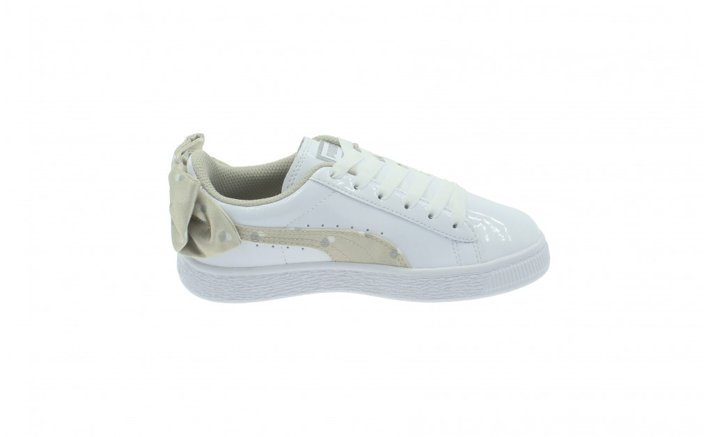 PUMA BASKET BOW DOTS KIDS IMAGE 3