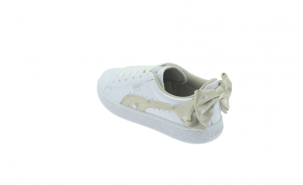 PUMA BASKET BOW DOTS KIDS IMAGE 6