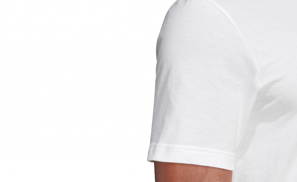 adidas LINEAR BRUSH TEE IMAGE 2