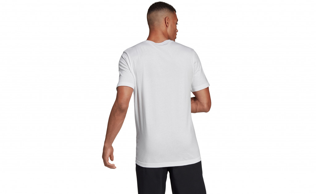 adidas LINEAR BRUSH TEE IMAGE 7