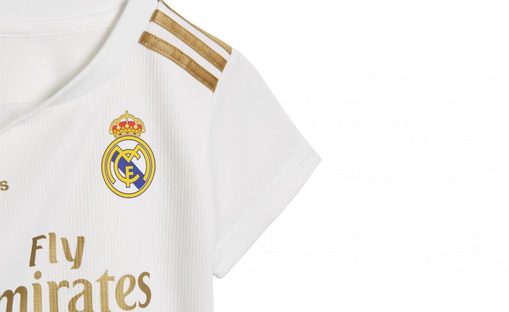 adidas MINIKIT PRIMERA EQUIPACIÓN REAL MADRID BEBÉ 19/20 IMAGE 4