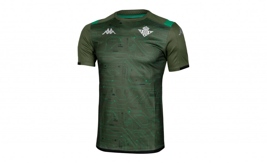 KAPPA CAMISETA TRAINING BETIS 19/20 IMAGE 1