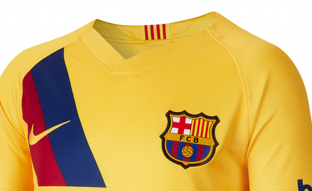 NIKE FC BARCELONA STADIUM AWAY JUNIOR 19/20 IMAGE 3