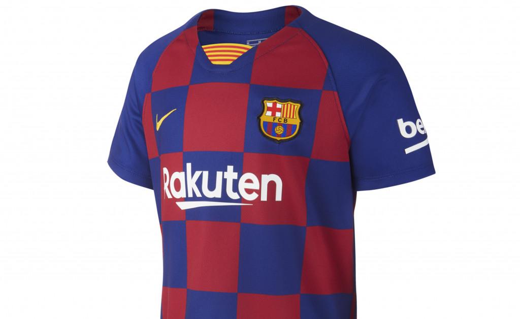 NIKE FC BARCELONA KIT HOME NIÑO 19/20 IMAGE 2