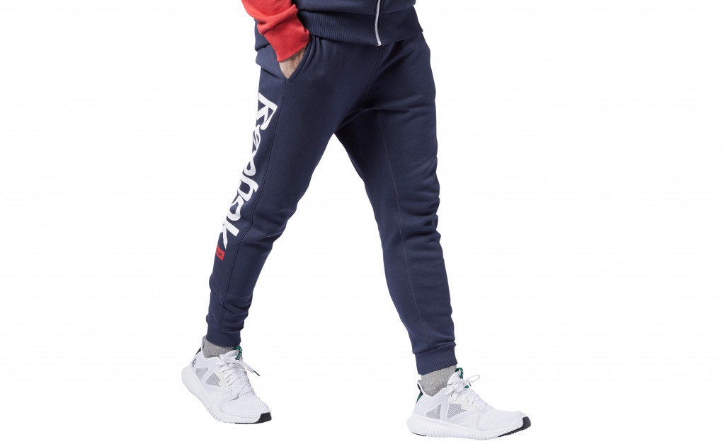 REEBOK TRAINING ESSENTIALS BIG LOGO JOGGER IMAGE 1