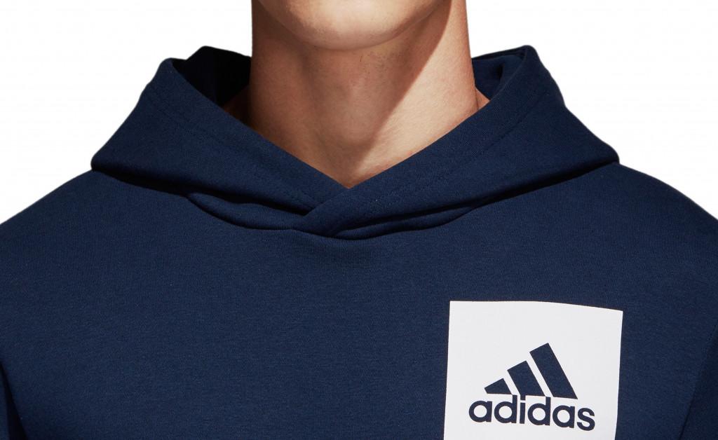 adidas SUDADERA ESSENTIALS LOGO IMAGE 8