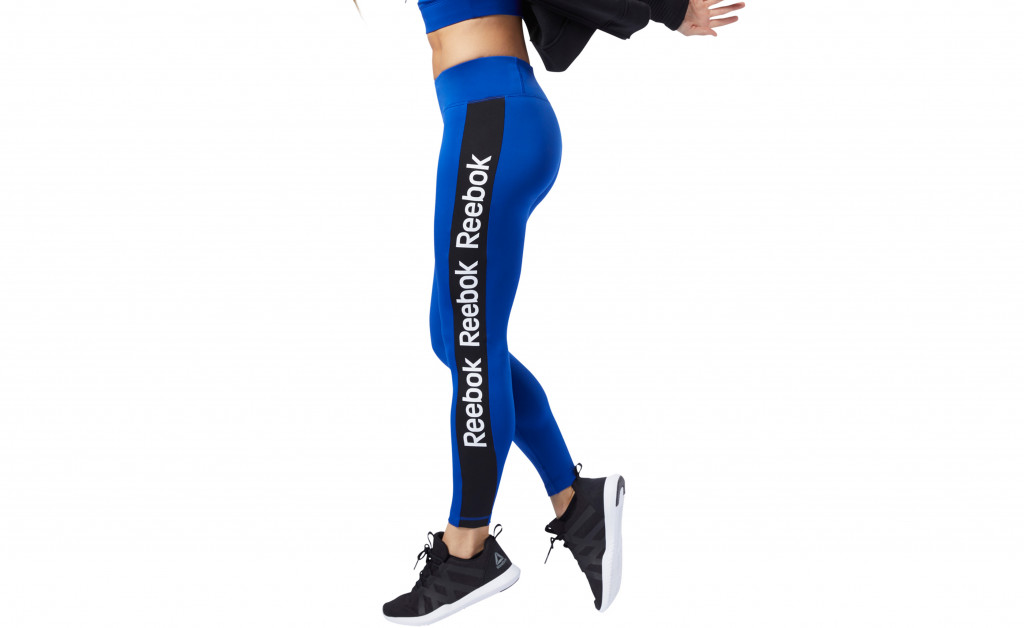 REEBOK LINEAR LOGO TIGHT POLIESTER IMAGE 4